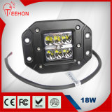 Most Powerful Top Selling 18W Outdoor LED Flood/Spot Driving Light Offroad