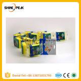 fiber/sponge scouring pad