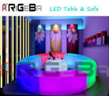 LED Cocktail Table Sofa Bar Chair for Outdoor Party Nightclub