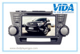 Car DVD Two DIN for Toyota Highlander with GPS/Bt/iPod
