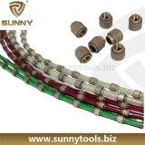 Diamond Multi-Wire for Granite Slab Cutting/Diamond Wire for Granite Squaring