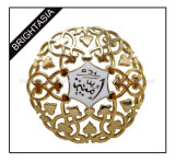 High Quality Copper Lapel Pin for Christams Decoration (BYH-10640)