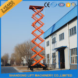 10m Fixed Hydraulic Raising Scissor Lift Platform