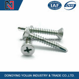 Fastener Manufacture Cross Recessed Countersunk Self-Drilling Tapping Screw with Low Price