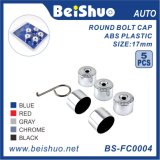 5+1 ABS Plastic Round 17mm Auto Wheel Bolt Cap/Cover Set