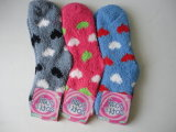 Children Winter Fleece Cotton Socks Terry Socks