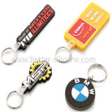 Promotion Custom-Made Silicone Rubber Keychains