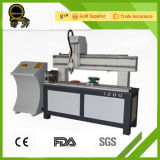 Jinan Factory Supply Wood Carving CNC Router Machine with Rotary