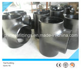 Butt Welded Carbon Steel A420 Wpl6 Pipe Fittings Seamless Tee