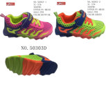 No. 50303 Two Colors Kids Mesh Sport Stock Shoes