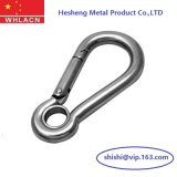 316 Stainless Steel Casting Spring Snap Hooks C/W Eye