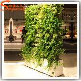 2015 Factory Wholesale Artificial Vertical Green Grass Wall