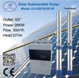 666L Stainless Steel Submersible Centrifugal Solar Pump 6in