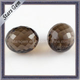 New Fashion Brown Faceted Cut Round Beads for Jewelry