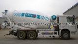 10 Wheels Concrete Mixer Brand Sinotruk HOWO