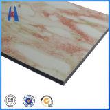 India Red ACP Aluminum Composite Panel Material