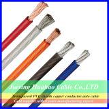 0AWG 2AWG 4AWG Transparent PVC Sheath Car Power Cable