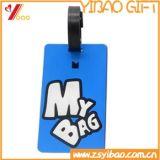 Custom Promotion Soft PVC Luggage Tag for Travel