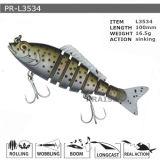 Pr-L3534 Customized Floating Hard Minnow Plastic Fishing Lure
