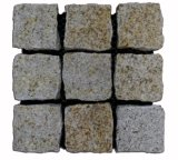 Best Selling Shandong Granite Cube Rusty Pave Granite Stone