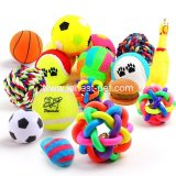 Vocal Small Bell Colorful Ball Pet Dog Rainbow Balls Toy