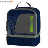 Heanoo Custom Dual Compartment Food Cooler Lunch Bag for Men