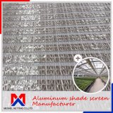 Length 10m~100m Outside Aluminum Shade Screen for Control Temperature