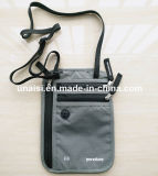 Can Hang on Belt RFID Passport Neck Wallet for Travel