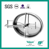 Sanitary Stainless Steel Elliptical Tank Pressure Type Manhole