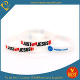 Custom Printing Different Color Silicone Wristband Color