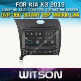 Witson Car DVD for KIA K3 2013 Car DVD GPS 1080P DSP Capactive Screen WiFi 3G Front DVR Camera