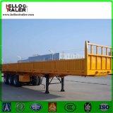 3 Axle 900mm Side Wall Flatbed Semi Trailer Cargo Trailer