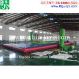 Amusement Inflatable Bossaball Game for Sale (BJ-B31)