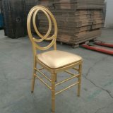 Gold Color PC Resin Wedding Infinitiy Phoenix Chair
