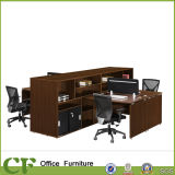 Office Workstation with Side Filing Cabinet