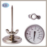 Stainless Steel Oven Thermometer Baking Thermometer 140+600c