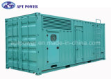 1500kw 1500rpm Yuchai Container Power Diesel Generator