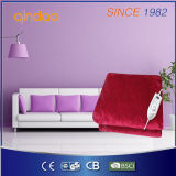 180*130cm with Auto Timer Burgundy Electric Over Blanket
