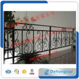 New Design Metal Iron Balcony Guardrail/Glass Guardrail