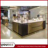 Attractive Jewelry Kiosk, Jewelry Display Showcases for Shopping Mall