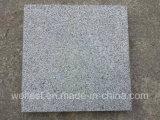 G654 Sesame Black Padang Dark Grey Granite Bush Hammered Tile