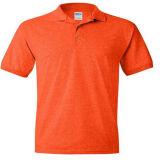 Orange Cotton 200 GSM Polo T-Shirt
