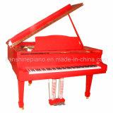 Red Polish Grand Piano (HG-152R)