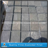 Flamed Black Basalt Cobble Stone/Cubestone/Basalt Paving Stone