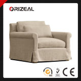 Living Room Upholstered Chairs Belgian Petite Roll Arm Slipcovered Chair