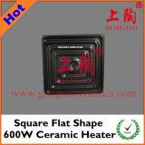Square Flat Shape 600W Ceramic Heater