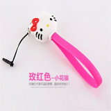 Portable Cartoon USB Cables for Android and Apple Mobiles