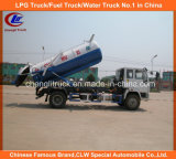 6 Wheel 10cbm Sinotruk HOWO Fecal Sewage Suction Trucks