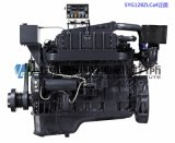 Main Engine. G128 Marine Diesel Engine. Shanghai Dongfeng Diesel Engine. 165.3kw, 1800rpm