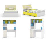 Popular Modern Kids Furniture Colorful Wooden Bedroom Furniture (Newton)
